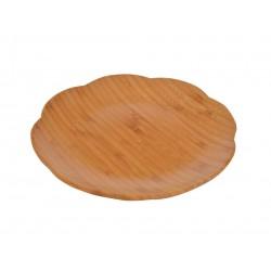 بشقاب چوبی طرح گل Bambum