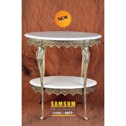 میز سنگی 2طبقه 1077