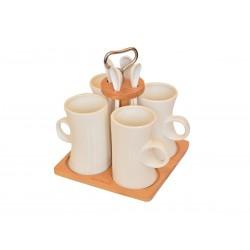 سرویس چای خوری 9 پارچه Bambum