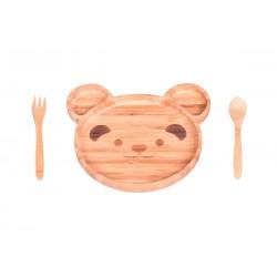 ست غذاخوری کودک طرح خرس Bambum کد B2872