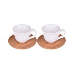 فنجان قهوهخوری دوتایی Bambum کد B2778