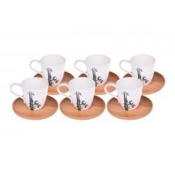 فنجان قهوهخوری 6 تایی Bambum کد B0014
