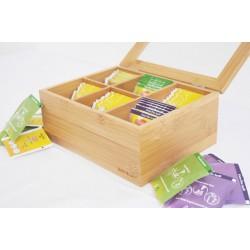 جعبه پذیرایی چای و نسکافه Bambum کد B2075