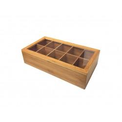 جعبه پذیرایی چای و نسکافه Bambum کد B2074