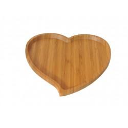 بشقاب غذا طرح قلب Bambum