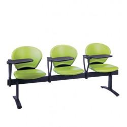 صندلی انتظار سهنفره نیلپر کد SW515N3