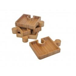 ظرف 4 تکه مربعی Bambum کد B2539