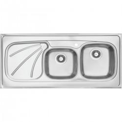 سینک ظرفشویی استیل داتیس مدل روکار کد D-A 113
