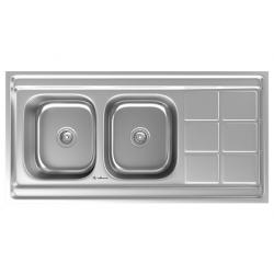 سینک ظرفشویی استیل داتیس مدل روکار کد D-A 131