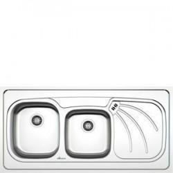 سینک ظرفشویی استیل داتیس مدل روکار کد D-A 133