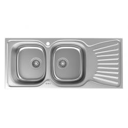 سینک ظرفشویی استیل داتیس مدل توکار کد DB-125