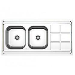 سینک ظرفشویی استیل داتیس کد DB-131