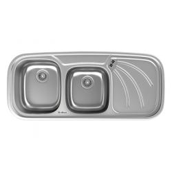 سینک ظرفشویی استیل داتیس توکار کد DB-133