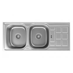 سینک ظرفشویی استیل داتیس توکار کد DB-134