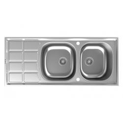 سینک ظرفشویی استیل داتیس توکار کدDB-135