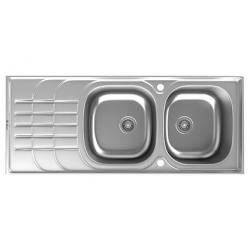 سینک ظرفشویی استیل داتیس توکار کد DB-136