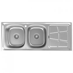 سینک ظرفشویی استیل داتیس توکار کد DB-140