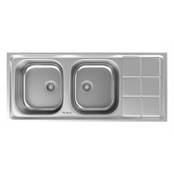 سینک ظرفشویی استیل داتیس توکار کد DB-145