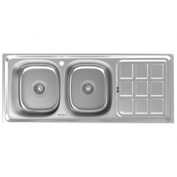 سینک ظرفشویی استیل داتیس توکار کد DB-141