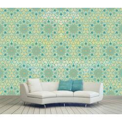 کاغذ دیواری ایرانی چارگوش کد 130562
