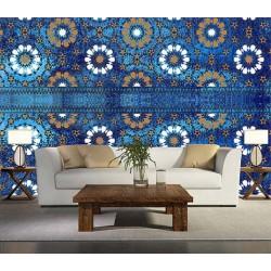 کاغذ دیواری ایرانی چارگوش کد 130621