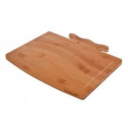 تختهگوشت چوبی دستهدار Bambum کد B2784
