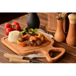 تخته گوشت چوبی دسته دار Bambum کد B2730