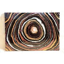 تابلو نقاشی آبستره طرح Big bang