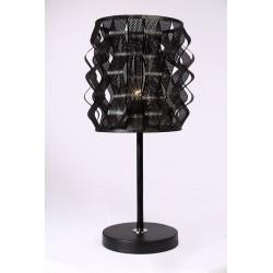 آباژور رومیزی فلزی مشکی کد 901140603