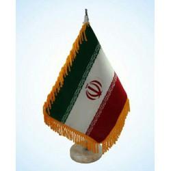 پرچم رومیزی پایه مرمر
