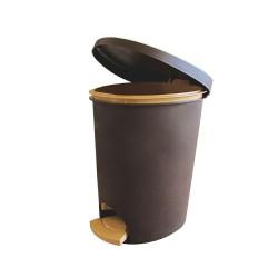 سطل اداری پدالی پلاستیکی کد 808