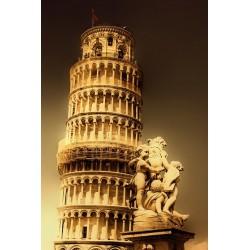 پوستردیواری طرح برج پیزا کد CT096
