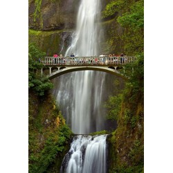 پوستردیواری طرح پل آبشار کد CT095