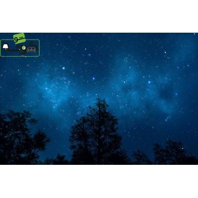 پوستردیواری سه بعدی طرح آسمان پر ستاره کد AS.004