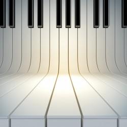 پوستردیواری طرح پیانو کد 3D.002 پوستر دیواری