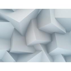 پوستردیواری طرح سه بعدی مکعبی کد 3D.003 پوستر دیواری
