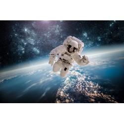 پوستردیواری سه بعدی طرح فضانورد معلق در فضا کد AS.002 پوستر دیواری