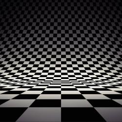پوستردیواری طرح سه بعدی شطرنج کد 3D.007 پوستر دیواری