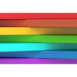 پوستردیواری طرح رنگین کمان کد 3D.018