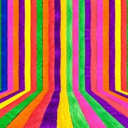 پوستردیواری طرح رنگین کمان عمودی کد 3D.020
