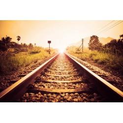 پوستردیواری طرح راه آهن کد City.095