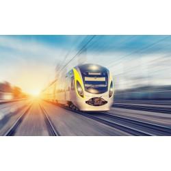 پوستردیواری طرح قطار کد City.096