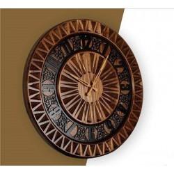 ساعت چوبی مثلث کد 2675