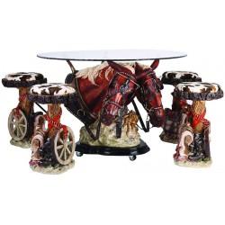 میز صندلی مدل بی پروا NVC4 کد 3333