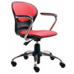صندلی گردان مدل صدفی نیمه تشک کد S 31