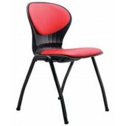 صندلی چهارپایه مدل صدفی نیمه تشک کد S 62