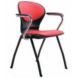 صندلی چهارپایه مدل صدفی نیمه تشک کد S 63-3