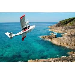 پوستر دیواری طرح هواپیما بر فراز ساحل کد T.021