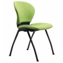 صندلی چهارپایه مدل صدفی تمام تشک کد ST 62