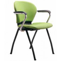 صندلی چهارپایه مدل صدفی تمام تشک کد ST 63-3
